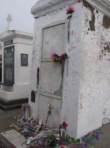 The tomb in St Louis Cemetery